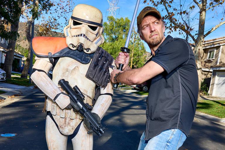 Sem novidade de 'Star Wars', fãs aproveitam para criar filmes da saga na web