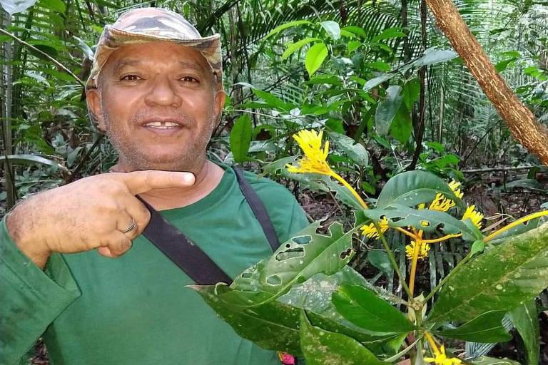 O parataxônomo Paulo Apóstolo Assunção, 64, vítima da Covid-19 em Manaus