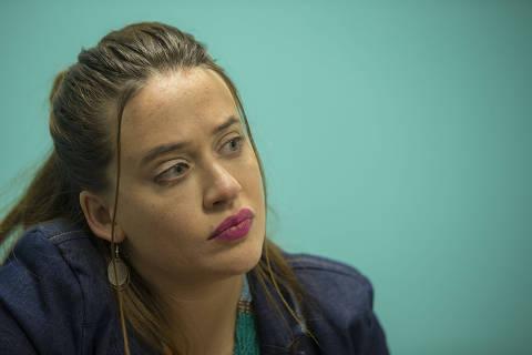 SAO PAULO -SP - 14/01/2021 - PODER/COTIDIANO - entrevista com a deputada do PSOL, Isa Penna, que sofreu assedio do Deputado Fernando Cury, durante sess‹o na Assembleia Legislativa.  FOTO MARLENE BERGAMO/Folhapress. 017 -  SELENE 587047