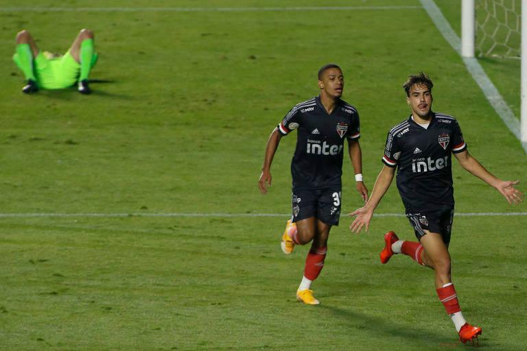 Líder, o São Paulo de Igor Gomes e Brenner é um dos clubes que mais utiliza a base no Brasileiro