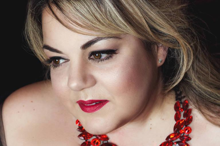 A soprano brasileira Gabriela Di Laccio