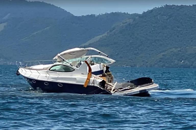 Quatro pessoas morreram após acidente entre lanchas, em Angra dos Reis, no RJ