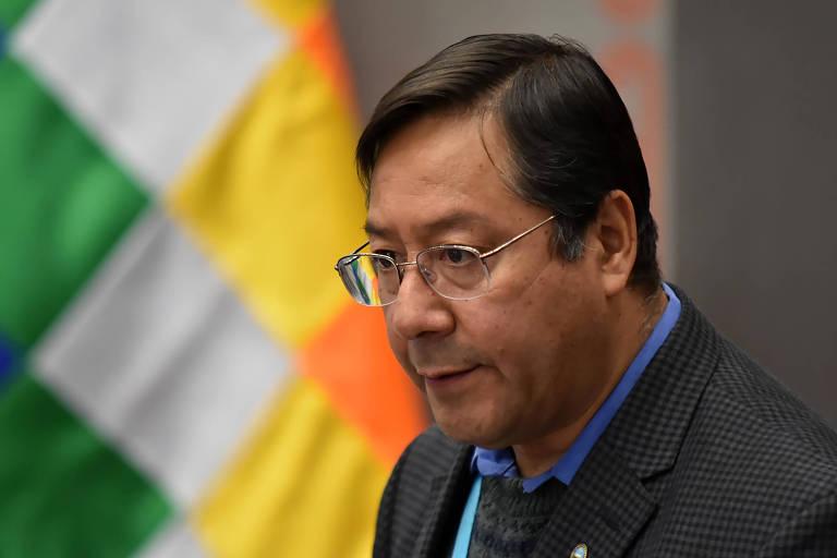 Presidente boliviano Luis Arce