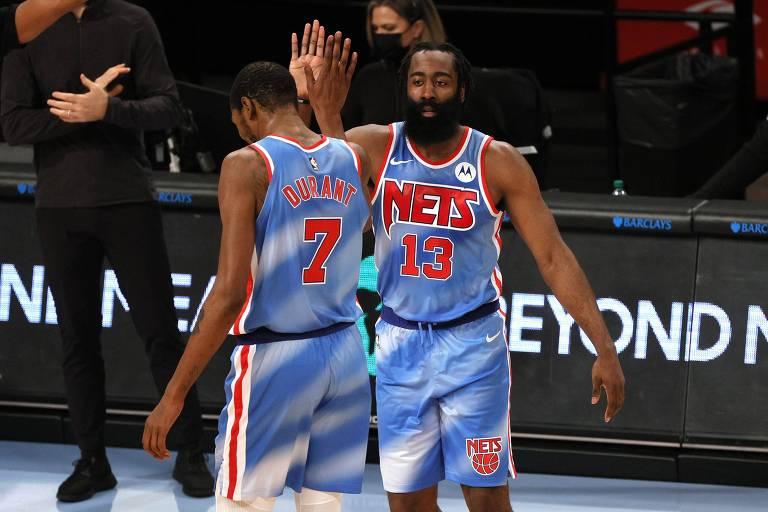 O que esperar do Brooklyn Nets com Harden ao lado de Durant e Kyrie Irving