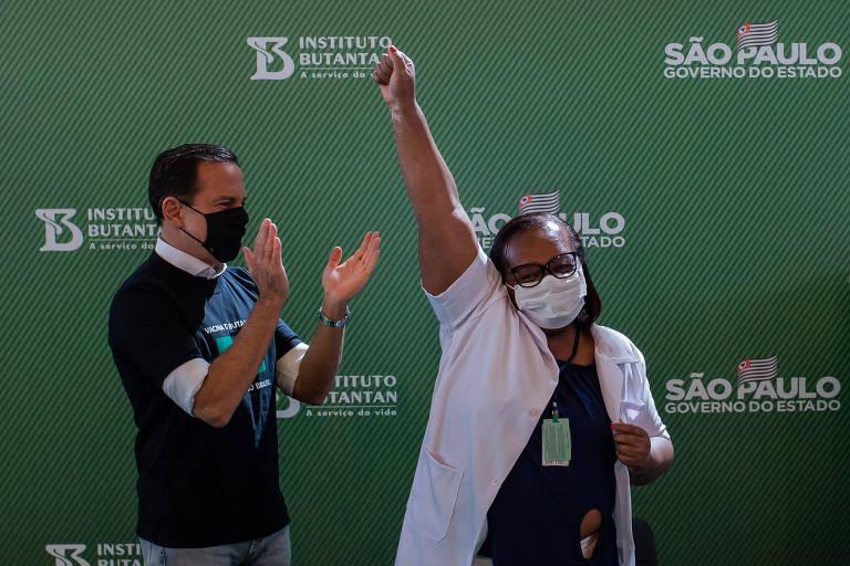 Em fala para o fórum de Davos, Doria ressalta primazia de São Paulo na vacinação