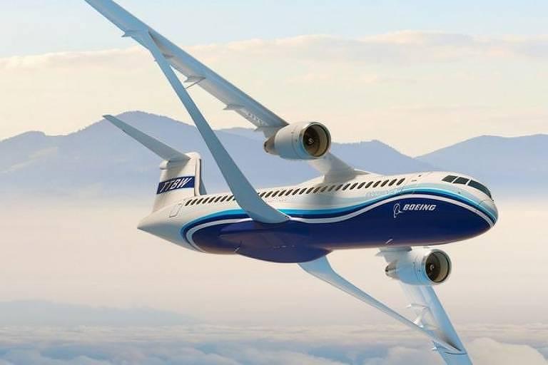 Projeto Transonic Truss-Braced Wing da Boeing