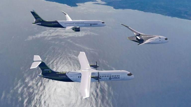O Airbus Maveric é uma aeronave de teste de asa mista com controle remoto