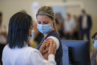 Início da Vacinação em São Paulo