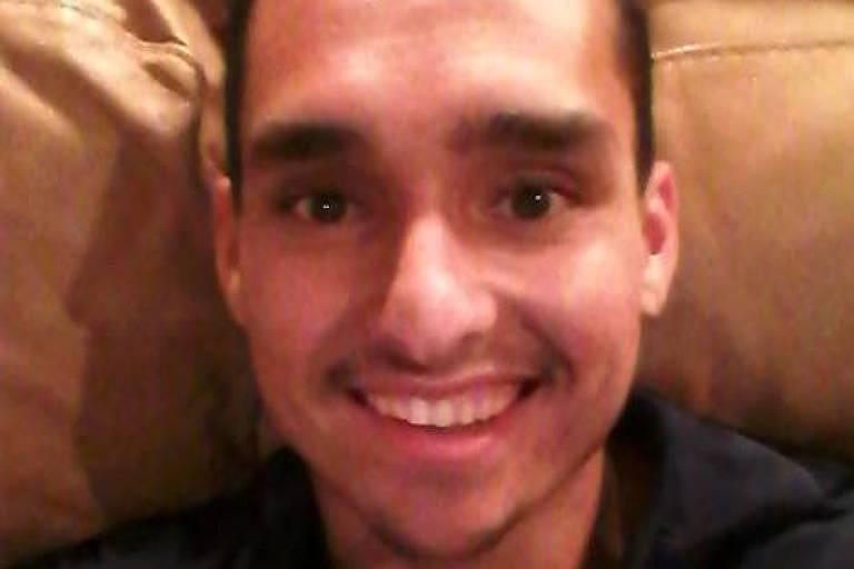 Samuel Camargo, 26, indiciado pelo FBI por participar do ataque ao Congresso dos EUA