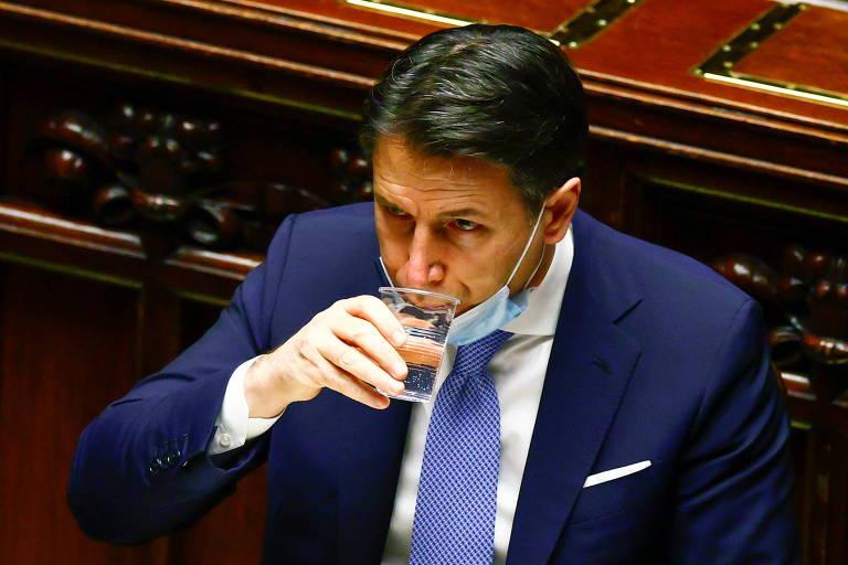 Com governo ameaçado, premiê da Itália ganha voto de confiança na Câmara e vai ao Senado