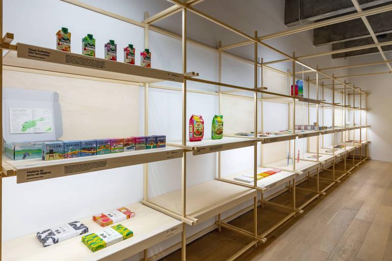 Exposição 'Embalagens: Designs Contemporâneos do Japão', em cartaz na Japan House