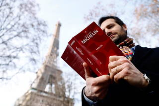 Michelin Guide 2021 award ceremony in Paris