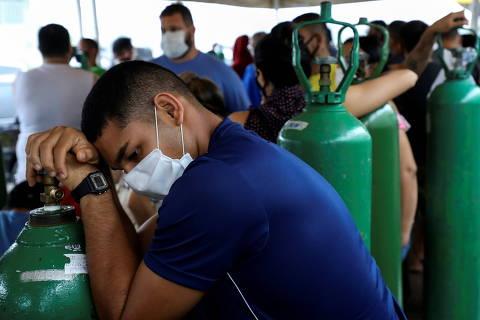 Com avanço de casos de Covid-19, oxigênio falta em cinco cidades do interior do Amazonas