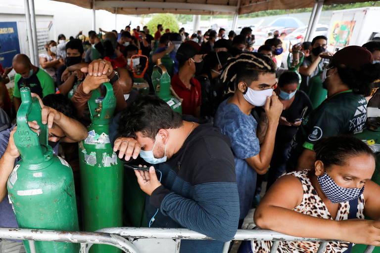 Após falta de oxigênio, EUA anunciam ajuda para crise sanitária em Manaus