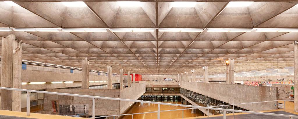 Prédio da Faculdade de Arquitetura e Urbanismo da Universidade de São Paulo