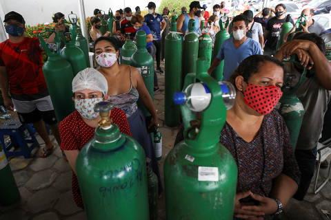 Força Nacional do SUS detectou oxigênio na reserva, leitos fechados por falta do insumo e previu colapso em Manaus