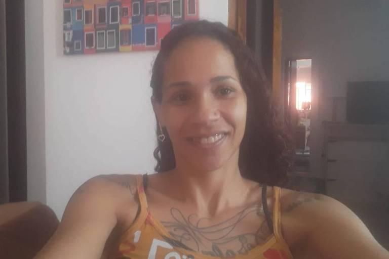 A diarista Elaine Torres, beneficiária das ações da Cufa