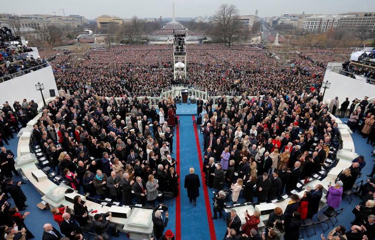 Veja as posses presidenciais nos EUA