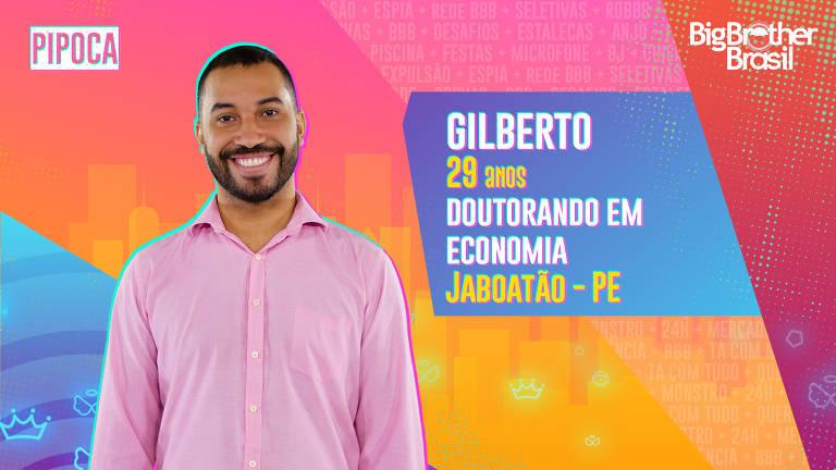 O doutorando em Economia Gilberto, de 29 anos, nasceu e foi criado em Jaboatão dos Guararapes, em Pernambuco