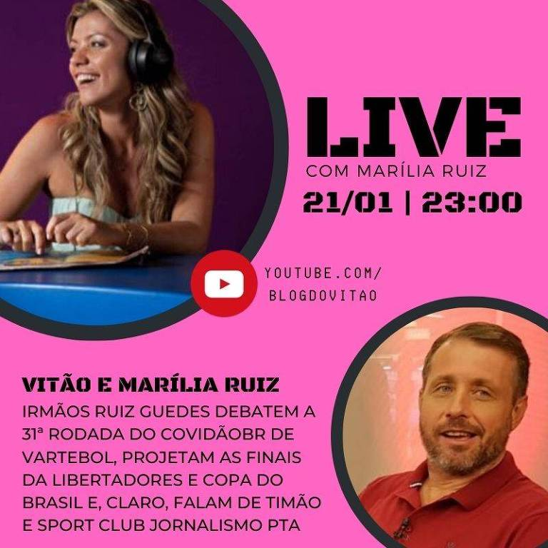 Live com Marília Ruiz