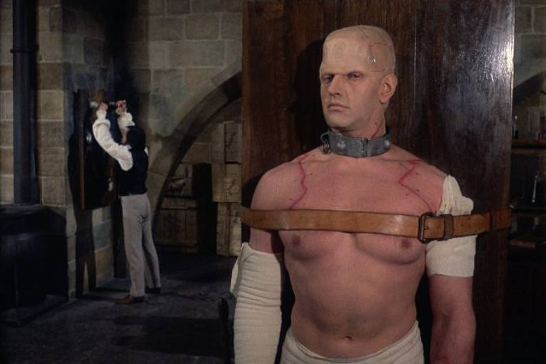 """O Horror de Frankenstein"", de Jimmy Sangster"
