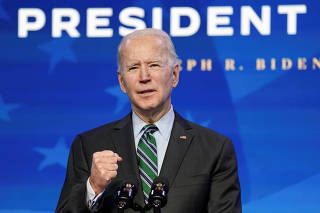 FILE PHOTO: U.S. president-elect Joe Biden announces his science team in Wilmington, Delaware