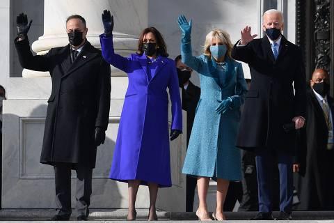 Posse de Biden traz celebração, mas também pavor pelo que ocorreu nos últimos 4 anos