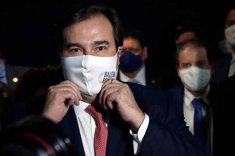Rodrigo Maia deve pedir desfiliação do DEM nas próximas horas
