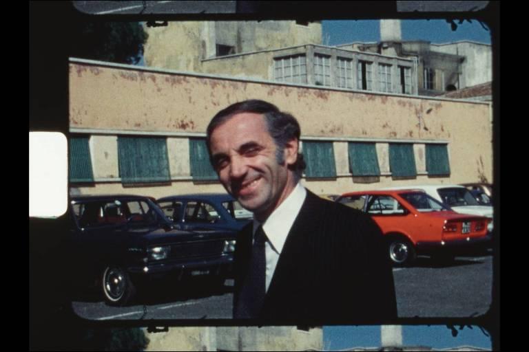 """Cena do documentário """"Aznavour por Charles"""" (2019), de Marc di Domenico e Charles Aznavour"""