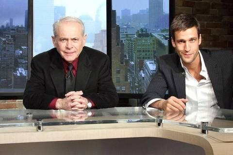 Caio Blinder, Lucas Mendes e Pedro Andrade em Manhattan Connection