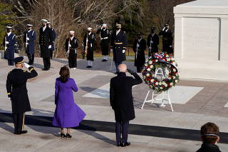 U.S. President Joe Biden visits Arlington National Cemetery