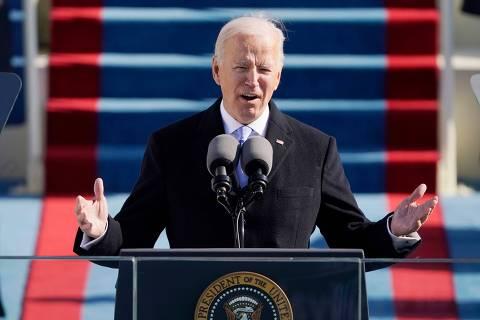 Veja a íntegra do discurso de posse de Joe Biden como presidente dos EUA