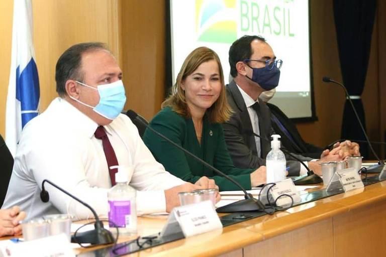 A médica Mayra Pinheiro, secretária de Gestão do Trabalho e da Educação na Saúde