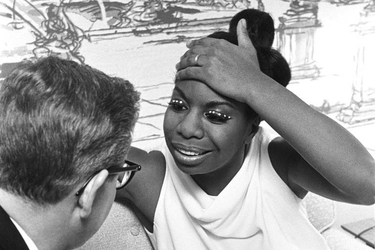 A cantora Nina Simone, em cena do documentário 'What Happened, Miss Simone?', de Liz Garbus