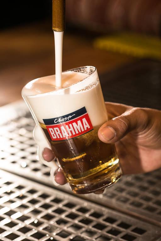 Veja fotos do chope do Bar Brahma