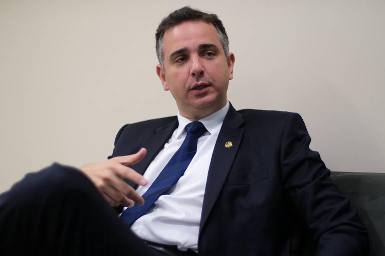 Rodrigo Pacheco (DEM-MG), candidato à presidência do Senado