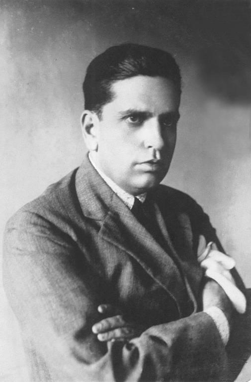 Oswald de Andrade em foto tirada em 1928