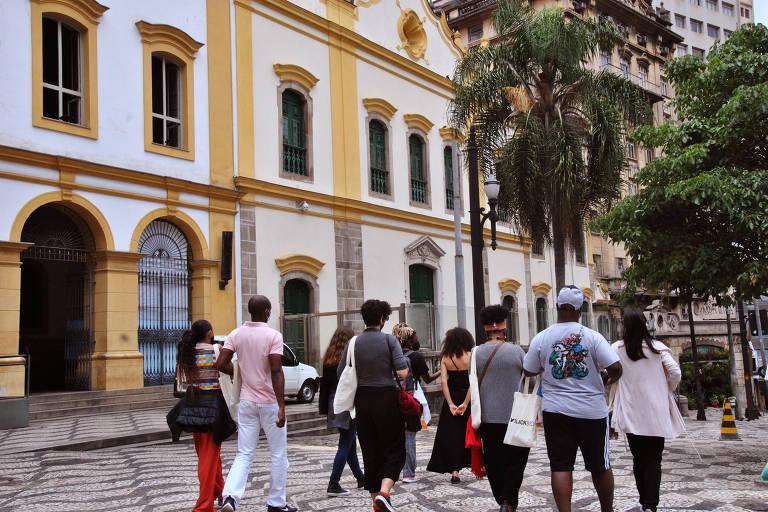 Imagens da Caminhada São Paulo Negra