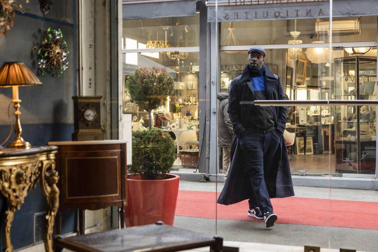 Imagens da 1ª temporada de Lupin
