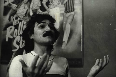 O cantor e compositor Belchior. (Foto: Ago.1977/Acervo UH/Folhapress)