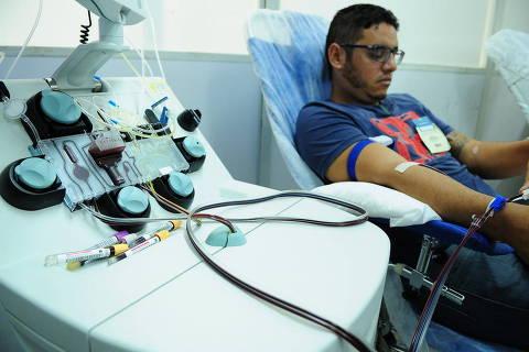 Doação de plaquetas