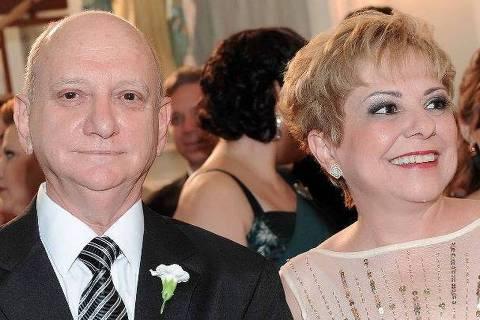 Clovis Celulare (1946-2020) e a esposa Gil Celulare