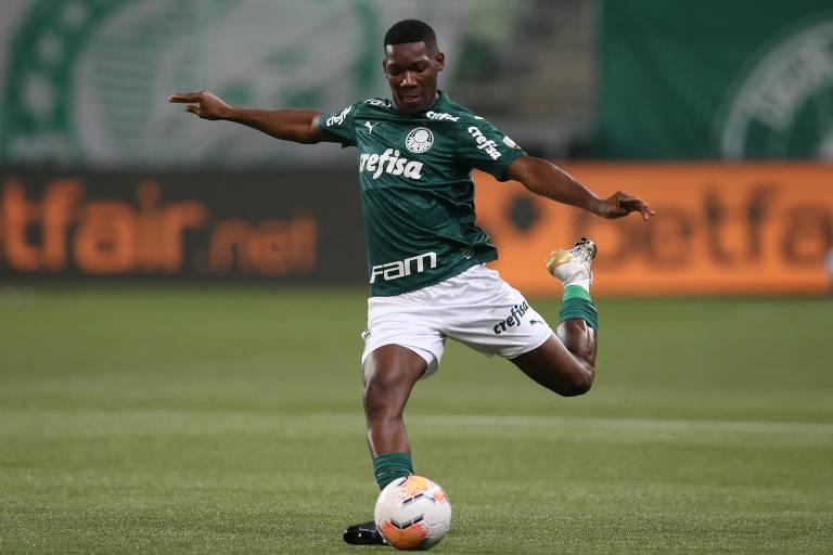 Patrick de Paula foi um atleta que o Palmeiras observou na Taça das Favelas. Captação também foi afetada pela pandemia