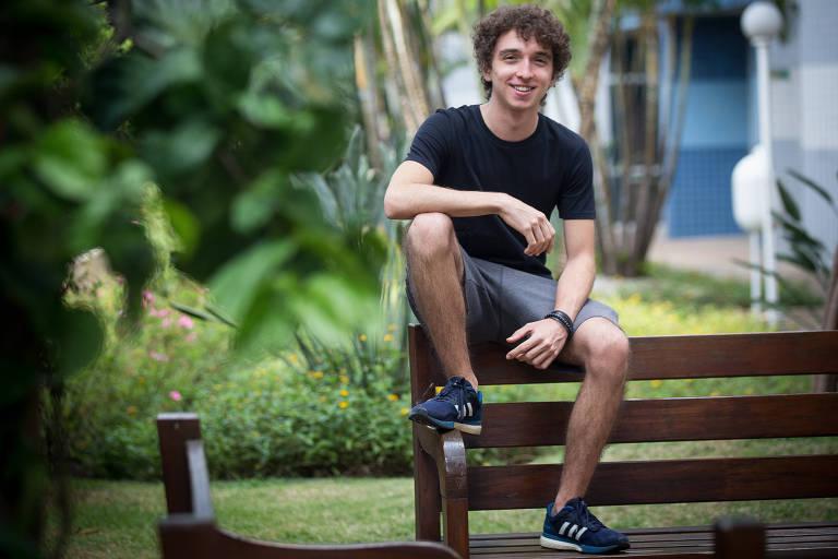 Com o sonho de estudar fora do país, Luigi Rigato usou a nota do Enem de 2019 para tentar vaga nos Estados Unidos
