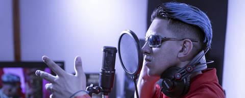 SÃO PAULO - SP - BRASIL - 21.01.2021 - 15h00: ENTREVISTA MC FIOTI. Retrato do cantor MC Fioti, feito em estúdio no bairro do Tatuapé. (Foto: Adriano Vizoni/Folhapress, MONICA BERGAMO) *** EXCLUSIVO FSP ***
