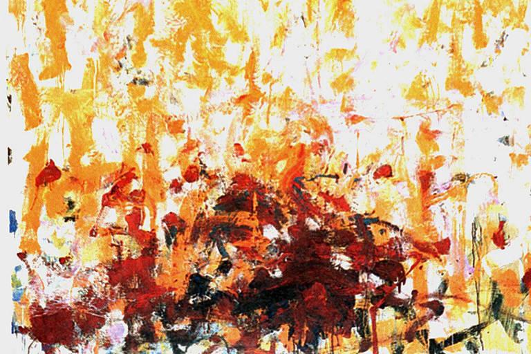 """Eduoard"", pintura da artista plástica Joan Mitchell"