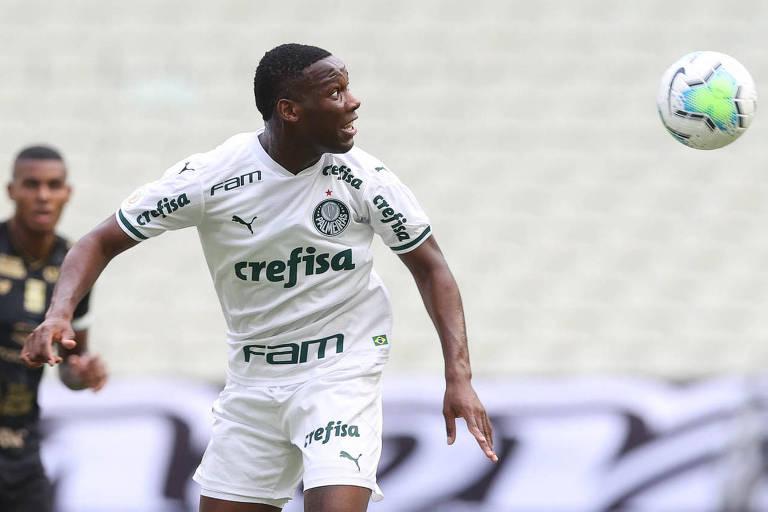 Patrick de Paula voltou a atuar pelo Palmeiras na derrota para o Ceará