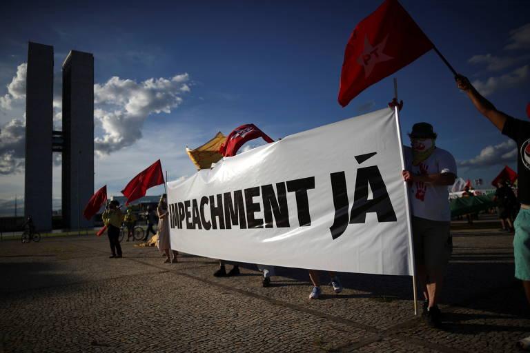 Tom Brady classificado para o Super Bowl e protesto contra Bolsonaro em Brasília; veja fotos de hoje