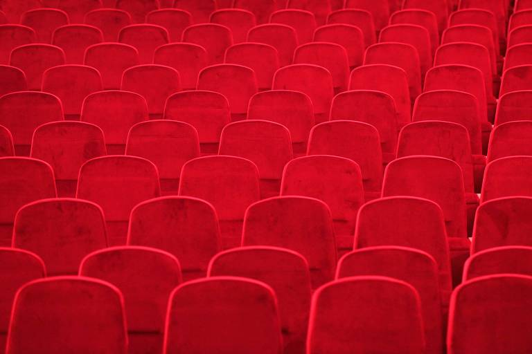 Sala de cinema fechada para conter o contágio do Covid-19 na Alemanha