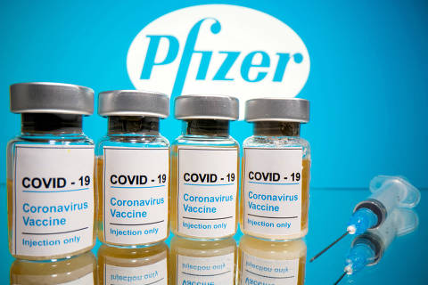 FILE PHOTO: FILE PHOTO: Vials with a sticker reading,